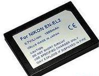China Digital camera&camcorder battery Nikon EN-EL2  1000mAh 3.7V on sale