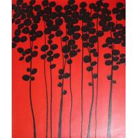 High quality oil painting on canvas Thick oil Knife paintings flowers modern art