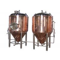 Copper 500 Gallon Conical Beer Fermenter As Beer Brewing Equipment Manufactures