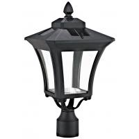 Low Voltage LED Outdoor Post Lantern Lighting 4V 2W Solar Panel Street Lamp Manufactures