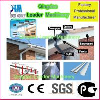 plastic profile machine, UPVC PVC  fascia board production machine Manufactures