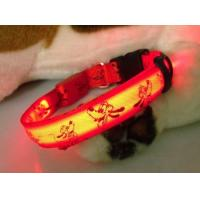 LED Flash Pet Collars With Diamond Manufactures