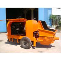 China Mini Concrete Pump HBT30 Worked For Private House Australia 3050x1700x1920mm on sale