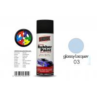 China Car Removable Rubber Spray Paint , Air Dried Auto Spray Paint With Glossy Lacquer Color on sale