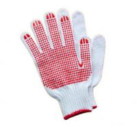China Two Sides Pvc Dotted Gloves Breathable For Aerospace / Automotive Industry on sale