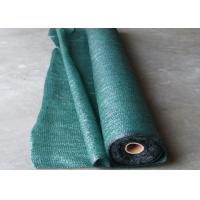 HDPE Raschel Knitted Greenhouse Shade Net Strong Tensile Resistant / Anti Aging Manufactures