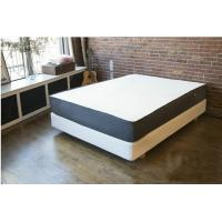China 12 Inch Natural Latex Gel Memory Foam Bed Mattress Polyester Knitted / Suede Fabric on sale
