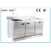 China Industrial Stainless Steel Bar Counter Custom Design 1500 * 700 * 800MM on sale