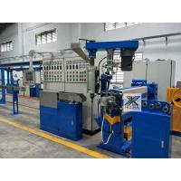 Power Cable Making Machine , PVC Cable Extruder Machine For 2 Worker Manufactures