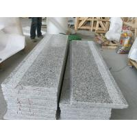 Chinese Cheap Polished G602 Grey Granite Flooring Tile for Interior and Exterior Building stone G602 granite Stairs Manufactures
