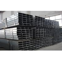 BS1387 Q215 Q235 Rectangular Galvanized Steel Tube / FBE Pipe With 3 PE Q215