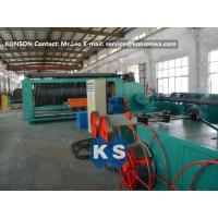 Spiral Coiling Gabion Production Line For Making Stone Cage 2 x 1 x 1m Manufactures