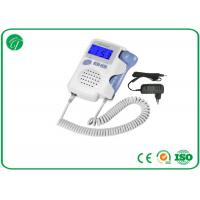 China High Fidelity Portable Fetal Doppler , Ultrasonic Fetal Heart Rate Doppler on sale
