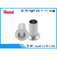 10S Thickness Super Duplex Stainless Steel Pipe Fittings Stub End 2 Inch Size Manufactures