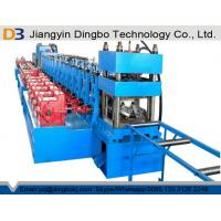 Road Structural Steel Highway Guardrail Roll Forming Machine For Traffic Barrier Manufactures