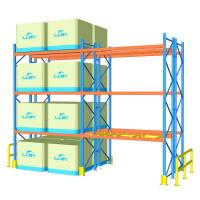 China 100cm Width Heavy Duty Pallet Racks For Supermarket / Factory Corrosion Protection on sale