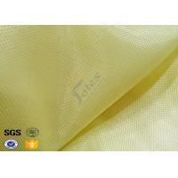 China Industrial Workwear Metal Kevlar Woven Fabric 250GSM Flame Retardant on sale