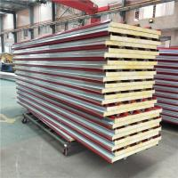 50mm glass exterior prefabricated building sandwich roof panel with fireproof Manufactures