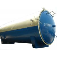 High Pressure Glass Laminating Autoclave 2m For Wood / Brick / Rubber / Food Manufactures