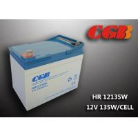 HR12135W  12V 33Ah Energy Storage Battery , AGM Rechargeable V0 Battery Manufactures