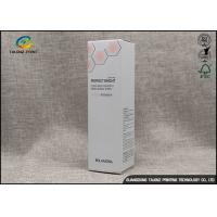 Printing Whitening Cream Cosmetic Packaging Boxes , Paper Cosmetic Box Manufactures