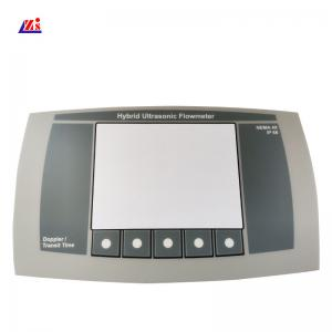 China ISO9001 Embossed Button 0.2mm Keyboard Membrane Switch on sale