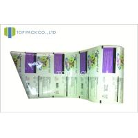 Laminated Plastic Packaging Film Roll , 2 Layer / 3 Layer Food Packaging Film Manufactures