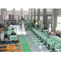 Carbon Steel / Cr-Mo Alloy Steel ERW Spiral Tube Finning Machine / Production Line Manufactures