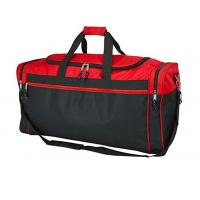 Two Tone Polyester Gym Duffel Bag Waterproof For Outdoor Activity / Travel Manufactures