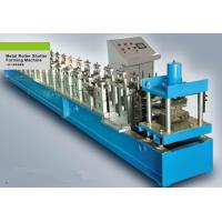 7.5Kw 180mm Feeding Coil Width Metal Shutter Door Roll Forming Machine PLC Control System Manufactures