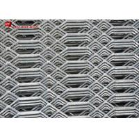 Expanded Sheet Metal Mesh / Expanded Metal Grating 3.0 Mm Thickness Manufactures