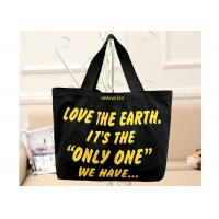 China Blank Shopping Canvas Bag Heavy Duty Waterproof Sturdy With Logo Printing on sale