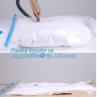 China vacuum storage bag set, plastic nylon pe vac bag for travel, ziplocK clothes storage bags vacuum, bagplastics, bagease on sale