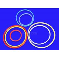 Smooth Surface Molded Silicone Parts , Durable Soft Rubber O Rings Mothproof Manufactures