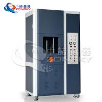 China Vertical FRLS Testing Instruments , Single Wire And Cable Combustion Test Equipment on sale