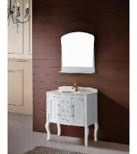 Solid Wood Bathroom Cabinet / Furniture / Vanity (MJ-222) Manufactures