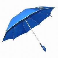 Automatic Umbrella with Spring Fiberglass Ribs, 14mm Aluminum Shaft and Pongee Fabric Manufactures