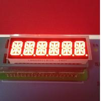 Super Bright Red 6 Digit 14 Segment Led Display 10mm For Taximeter Manufactures