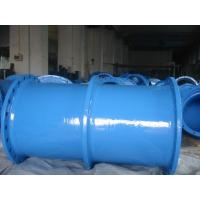 Ductile iron puddle pipe ,epoxy coating flange pipe Manufactures