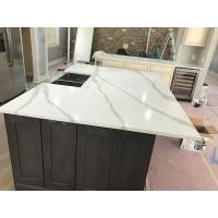 Popular Quartz Stone Countertops With Veins 400 Kinds Colors Optional Manufactures