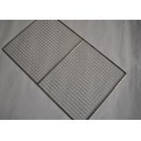 Food Grade 304 Stainless Steel Shelf Mesh Tray For Cooling Racks Manufactures