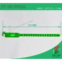 RFID one-time PVC wristband tag (LF/HF/UHF, Product Type:ZT-CH-PVC06) Manufactures