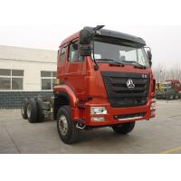 Tri Axles Heavy Commercial Trucks Chassis For Dump Truck 25000kg GVW Manufactures