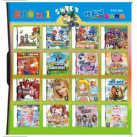 32GB 260 in 1 260 in one Multi games Card for DS/DSI/DSXL/3DS Game Console Manufactures