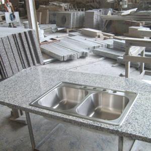 High Density Granite Stone Countertops G603 , Granite Kitchen Counter Tops Manufactures
