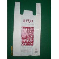 China OEM Biodegradable Shopping Bags Application T - Shirt Carriver Bags, Shopping Bags on sale
