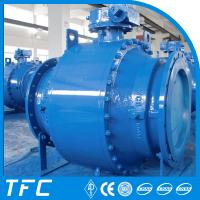 china supplier trunnion mounted ball valve, trunnion ball valve Manufactures