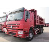 China High Quality HOWO 6*4 10 Wheeler Euro 2 20t-30t Dump Truck With 336 HP Engine on sale