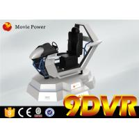 Great Experience VR Racing 9D Simulator With Attractive Design One Year Warranty Manufactures