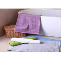 Decorative Hotel Bath Mats / Plush Bathroom Rugs Washable Disposable Manufactures